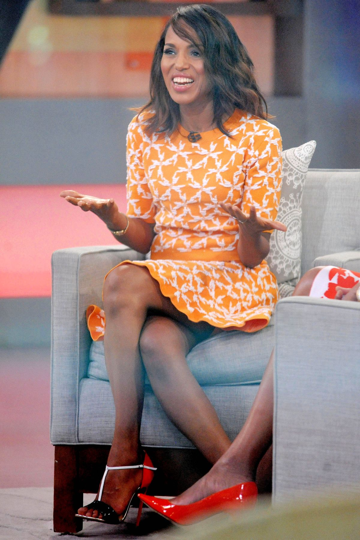 Good Morning America Nyc : Kerry washington at good morning america in new york
