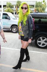 KESHA Arrives at LAX Airport in Los Angeles 05/22/2015