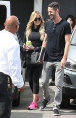 KHLOE KARDASHIAN Leaves a Hair Salon in Beverly Hills 05/06/2015