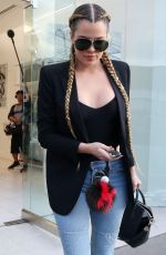 KHLOE KARDASHIAN Out Shopping in Beverly Hills 04/30/2015