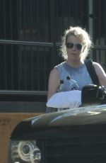 KIM BASINGER Leaves a Gym in Los Angeles