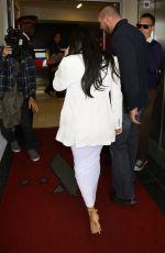 KIM KARDASHIAN Arrives at LAX Airport in Los Angeles 05/09/2015