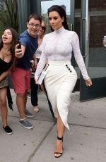KIM KARDASHIAN Leaves Her Home in New York 05/05/2015