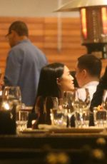 KIM KARDASHIAN Out for Dinner in Sao Paulo 05/10/2015