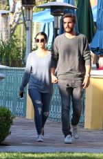 KOURTNEY KARDASHIAN and Scott Disick Out for Dinner in Calabasas