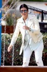 KOURTNEY KARDASHIAN at a Park in Malibu 05/16/2015
