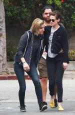 KRISTEN STEWART and Friends Leaves a Restaurant in Los Angeles 05/25/2015