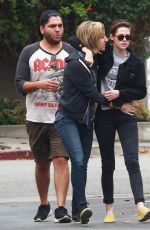 KRISTEN STEWART and Friends Leaves a Restaurant in Los Angeles 05/25/2015