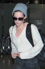 KRISTEN STEWART Arrives at Los Angeles International Airport 05/01/2015