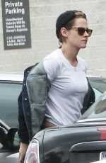 KRISTEN STEWART Out and About in Los Angeles 05/06/2015