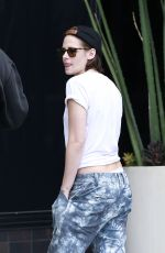 KRISTEN STEWART Out and About in Los Angeles 05/07/2015