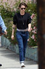 KRISTEN STEWART Out and About in Los Angeles 05/24/2015