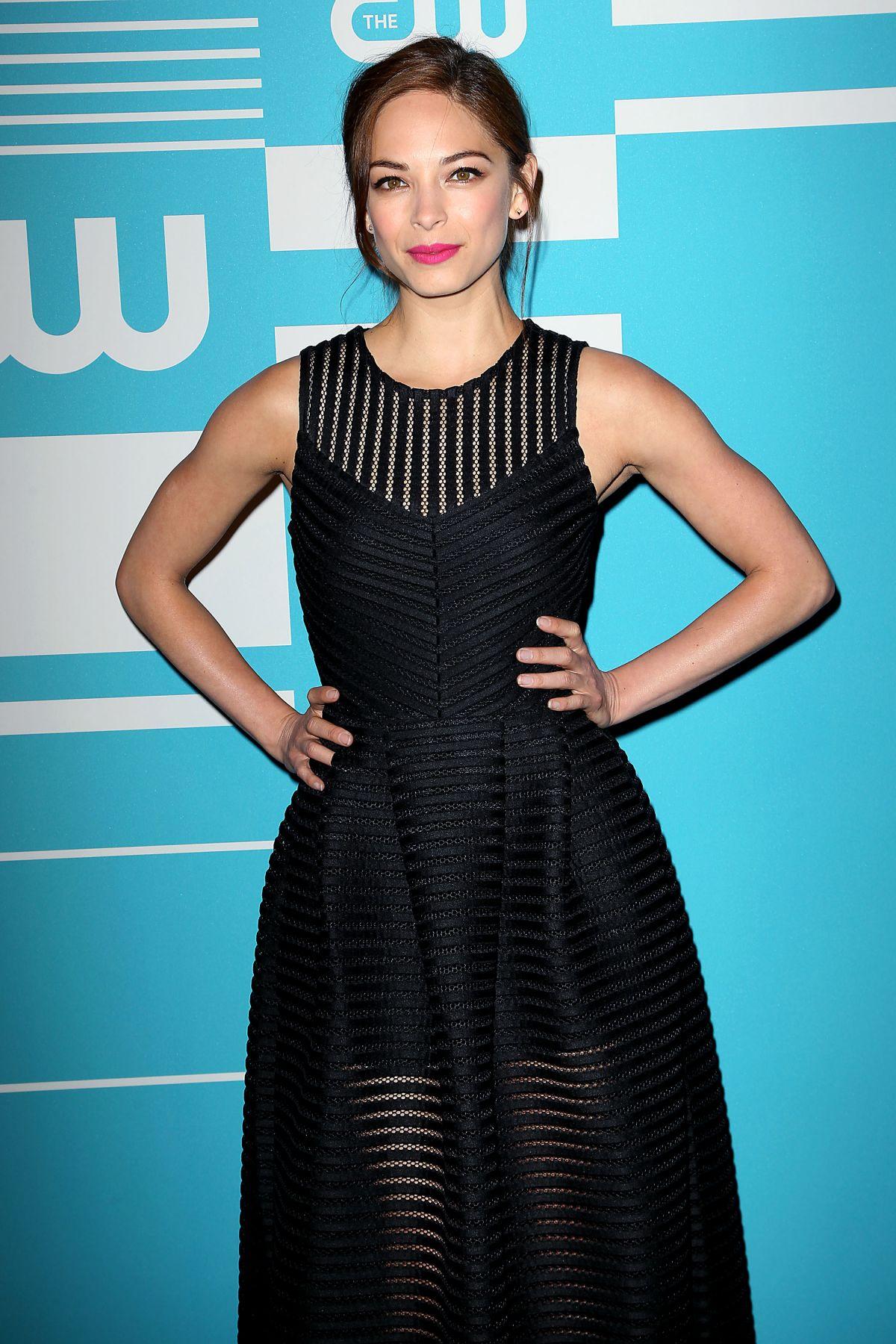 KRISTIN KREUK at CW Network's 2015 Upfront in New York