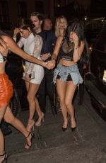 KYLIE JENNER Arrives at MET Gala After Party in New York
