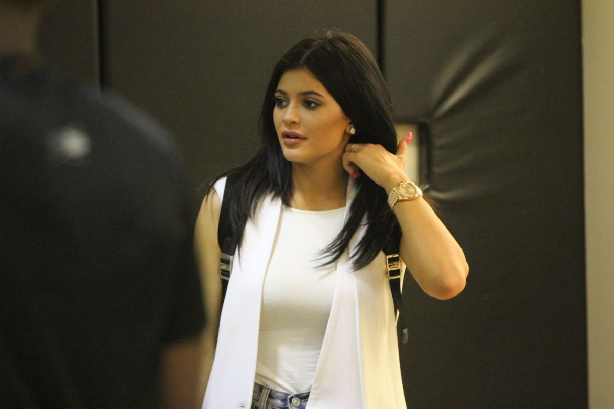 KYLIE JENNER at Celebrity Basketball Spectacular in Los Angeles