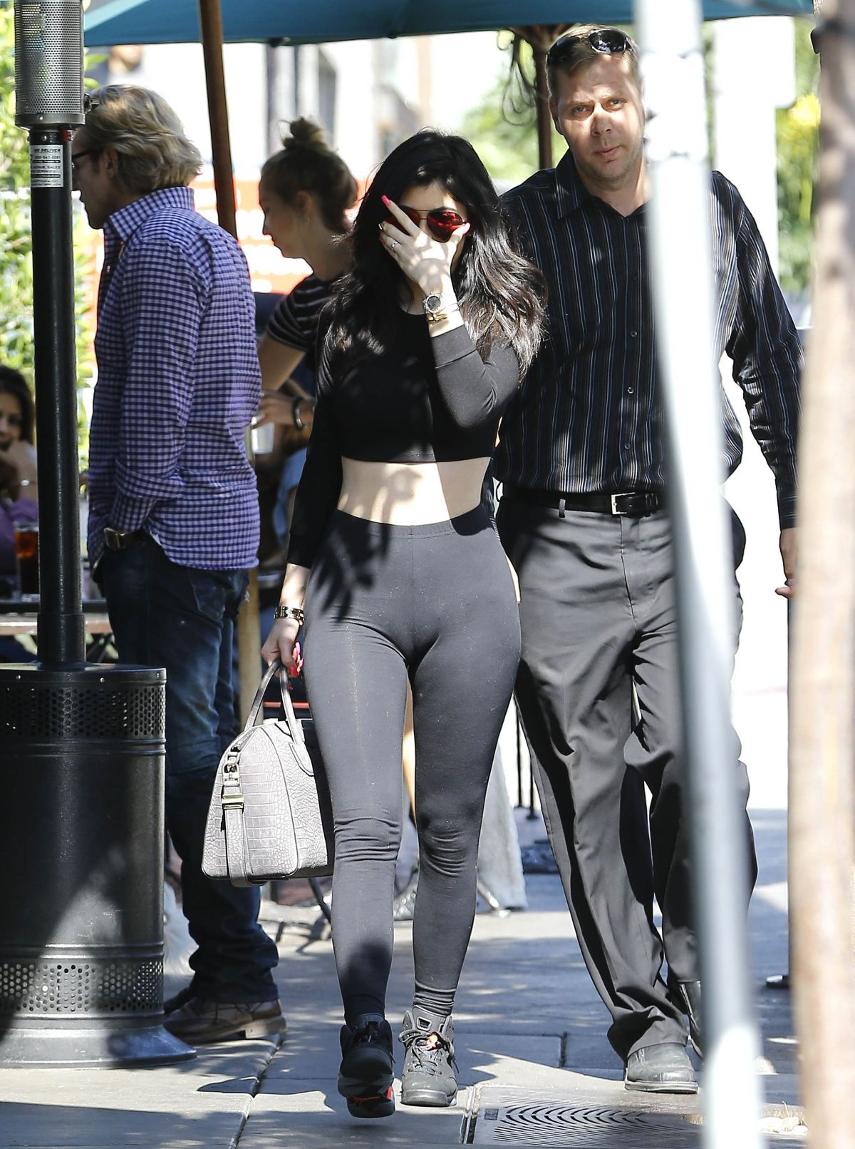 KYLIE JENNER at Urth Caffe in West Hollywood 05/28/2015