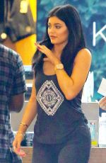 KYLIE JENNER Leaves Pacsun in Santa Monica 05/30/2015