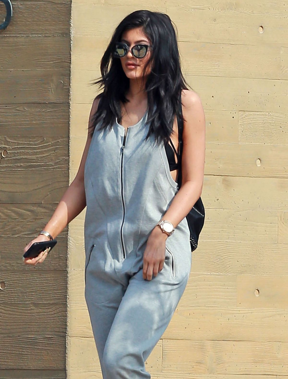 KYLIE JENNER Out and About in Malibu 05/16/2015