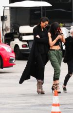KYLIE JENNER Taking Ppictures at a Private Jet Airport in Los Angeles 05/17/2015