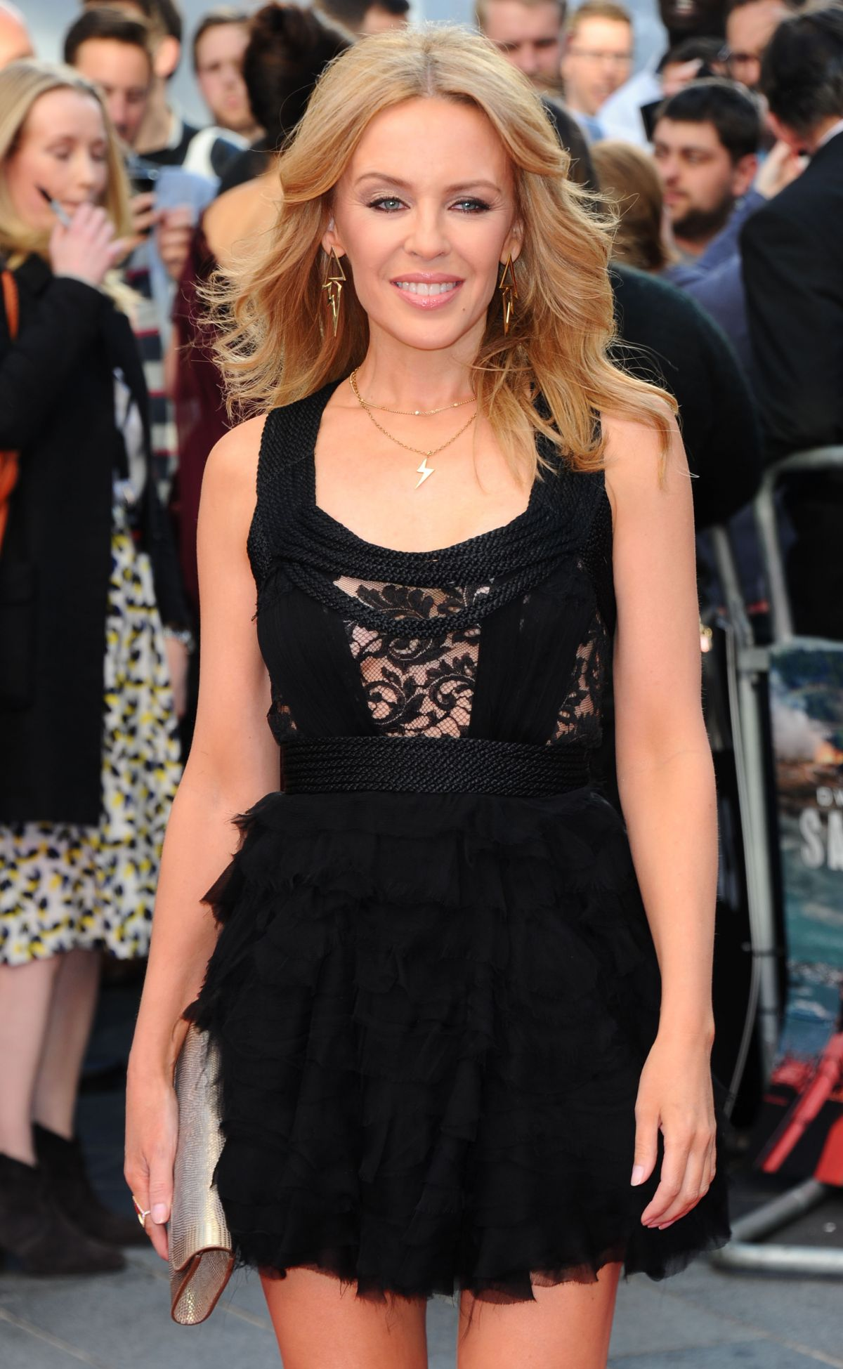 KYLIE MONOGUE at San Andreas Premiere in London