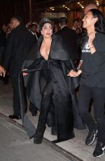 LADY GAGA Arrives at Diamond Horseshoe in New York