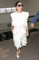 LADY GAGA Arrives Los Angeles International Airport 05/05/2015