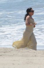 LADY GAGA at a Beach in Los Angeles 05/02/2015