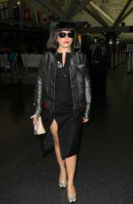 LADY GAGA at LAX and JFK Airports