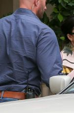 LADY GAGA Leaves a Dermatologist in Beverly Hills