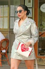 LADY GAGA Leaves Her Apartment in New York 05/05/2015
