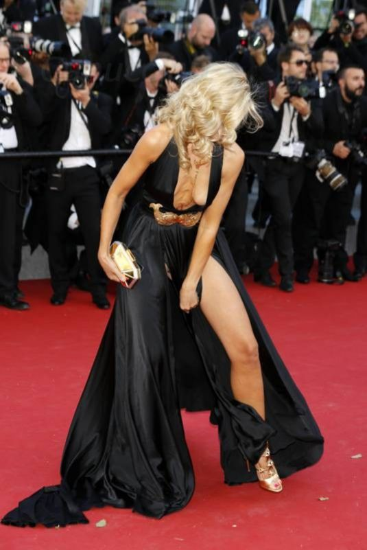Lady Victoria Hervey At Youth Premiere At Cannes Film