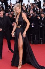 LADY VICTORIA HERVEY at Youth Premiere at Cannes Film Festival