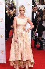 LAURA WHITMORE at BAFTA 2015 Awards in London