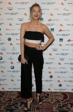 LAURA WHITMORE at WGSN Global Fashion Awards in London