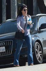 LAUREN GRAHAM Leaves Neil George Salon in Los Angeles 05/28/2015