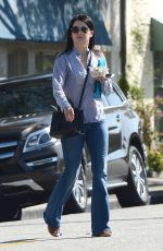 LAUREN GRAHAM Leaves Neil George Salon in Los Angeles 05/28/2015