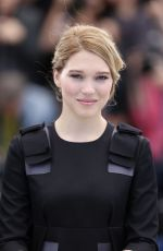 LEA SEYDOUX at The Lobster Photocall at Cannes Film Festival
