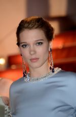 LEA SEYDOUX at The Lobster Premiere at Cannes Film Festival