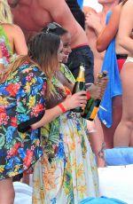 LEIGH-ANNE PINNOCK at Ocean Club in Marbella 05/24/2015