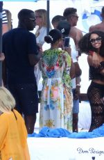 LEIGH-ANNE PINNOCK at Ocean Club in Marbella 05/24/2015