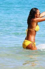 LEIGH-ANNE PINOCK in Bikini at a Beach in Jamaica 04/20/2015