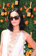 LEIGH LEZARK at 2015 Veuve Clicquot Polo Classic in New Jersey