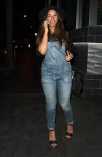 LEONA LEWIS Night Out in West Hollywood 05/01/2015