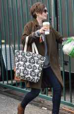 LILY COLLINS Out and About in West Hollywood 05/15/2015
