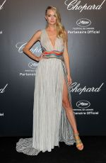 LINDSAY ELLINGOSN at Soiree Chopard Gold Party in Cannes