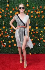 LINDSAY ELLINGSON at 2015 Veuve Clicquot Polo Classic in New Jersey