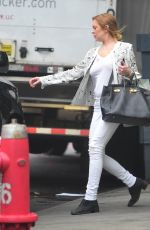 LINDSAY LOHAN Out and About in New York 05/19/2015