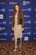 LINDSEY WIXSON at VIP Red Carpet Suite at the 26th Annual Glaad Media Awards in New York