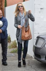 LISA KUDROW Out and About in West Hollywood 05/08/2015