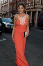 LISA SNOWDON Arrives at Claridges Hotel
